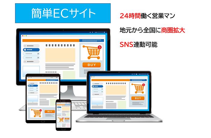 EC Site 簡単ECサイト