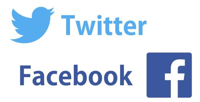 ECサイト facebook twitter